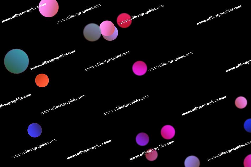 Delightful Holiday Lights Bokeh Clip Art | Unbelievable Photoshop Overlay