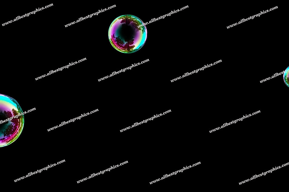 Gorgeous Colorful Bubble Overlays | Incredible Overlays for Photoshop on Black