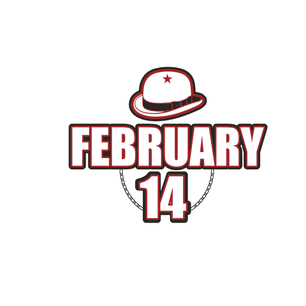 February 14 | Free download Printable Cool Quotes T- Shirt Design in Png
