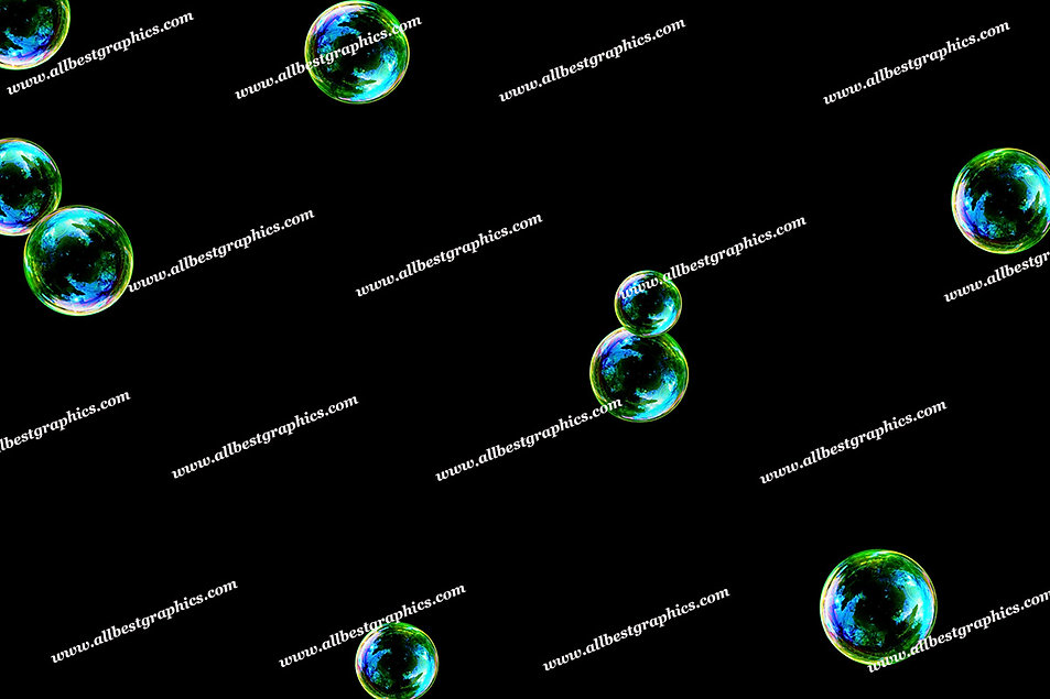 Summer Colorful Bubble Overlays   Fantastic Photoshop Overlays on Black
