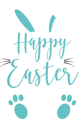 Happy Easter | Happy Easter and Bunny Quotes & Signs Cut files in Eps Svg Dxf