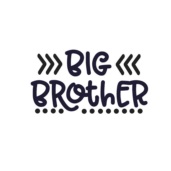 Big brother | Free Iron on Transfer Slay & Silly Quotes T- Shirt Design in Png