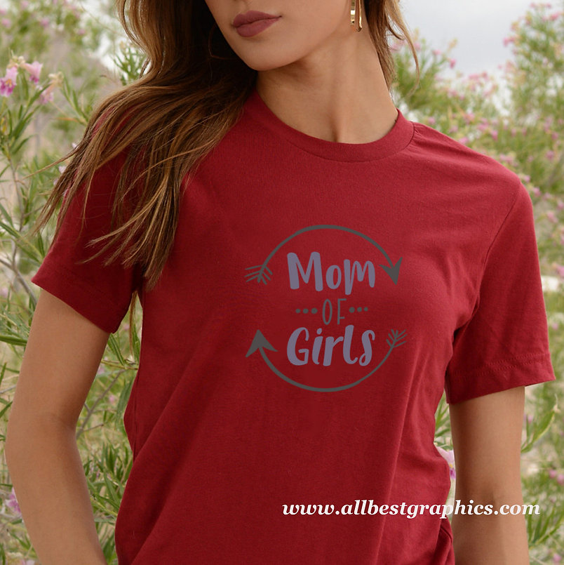 Mom of Girls   Sassy Mom Quotes & Signs for Cricut and Silhouette Cameo