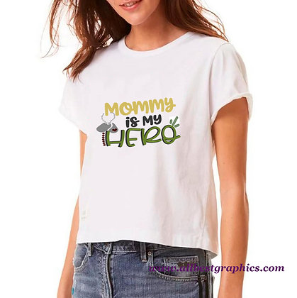 Mommy Is My Hero | Sassy Mom Quotes & Signs for Cricut and Silhouette Cameo