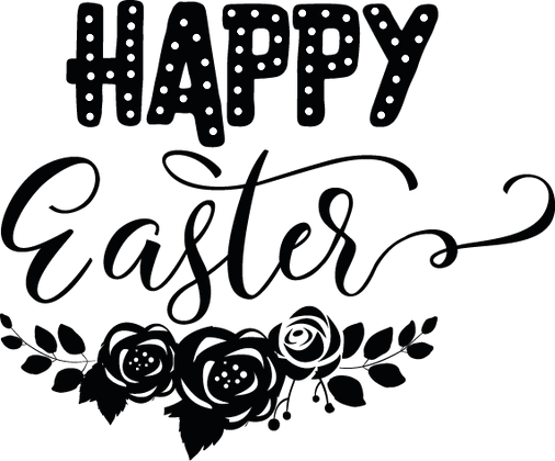 Happy Easter | Easter and Bunny Quotes & Signs for Silhouette Cameo and Cricut