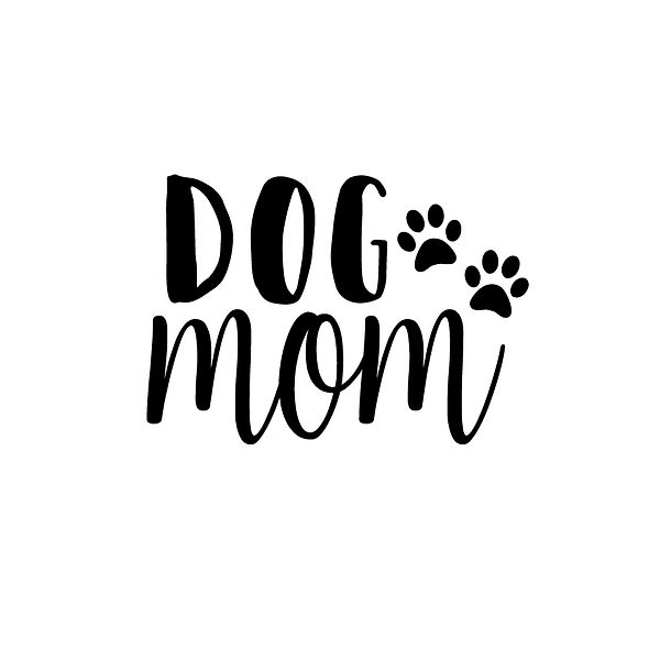 Dog mom Png | Free download Iron on Transfer Funny Quotes T- Shirt Design in Png