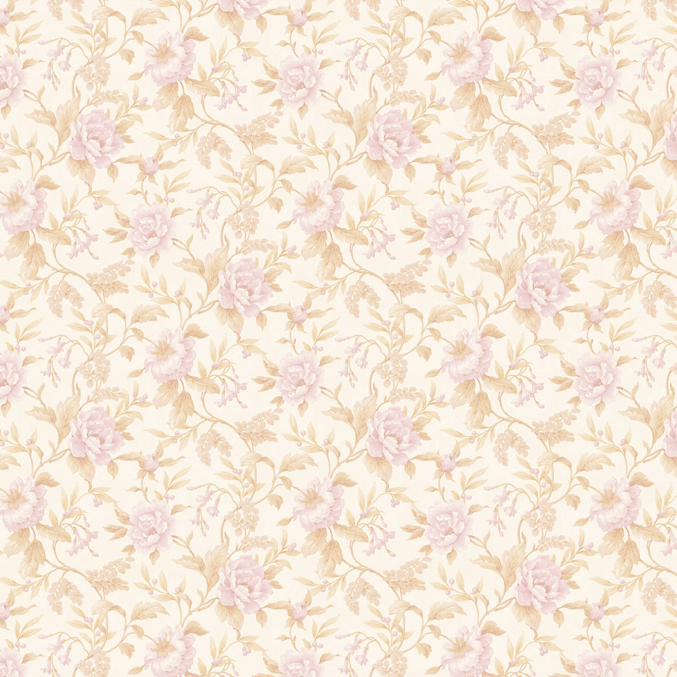 Spring peonies digital paper with seamless design | Partterned Digital Papers