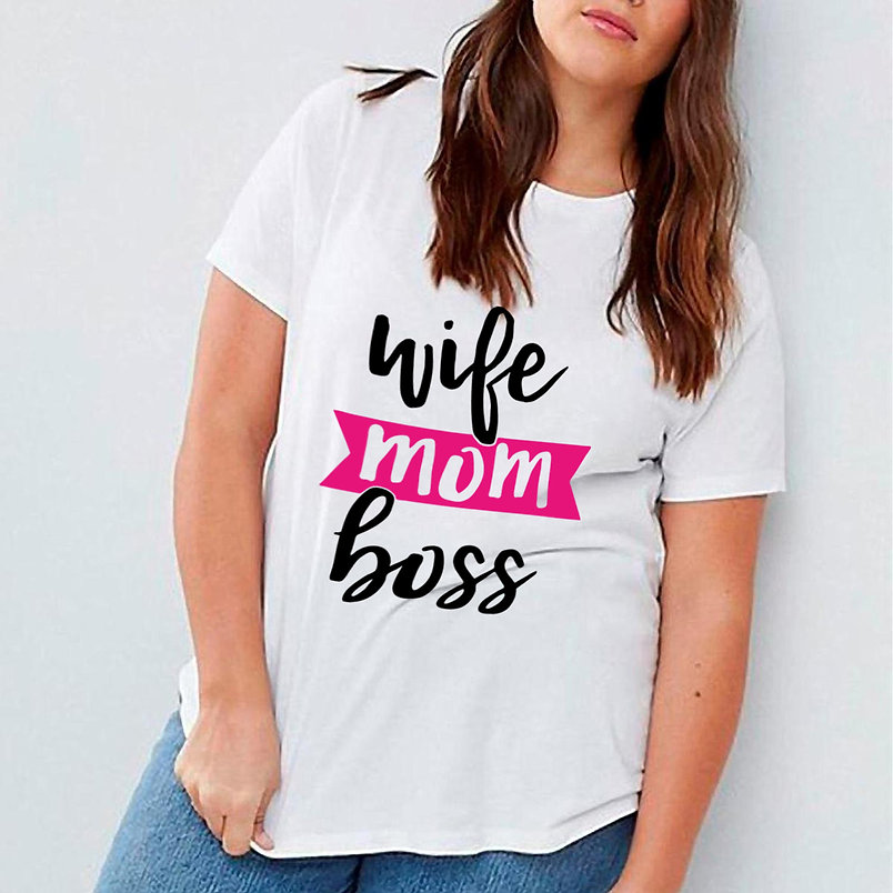 Wife Mom Boss   Sassy Mom Quotes & Signs for Cricut and Silhouette Cameo