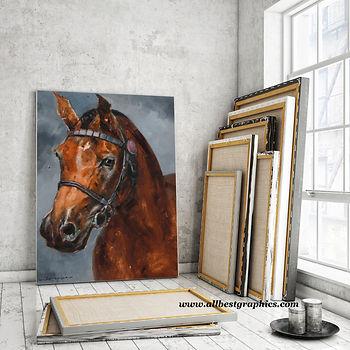 Wooden Easel Artist Studio   Photoshop Mock up Psd Template