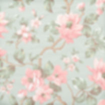 Watercolor floral digital paper with peonies | Handmade Digital Paper