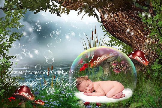 Amazing Newborn Digital Backdrop | Newborn photography