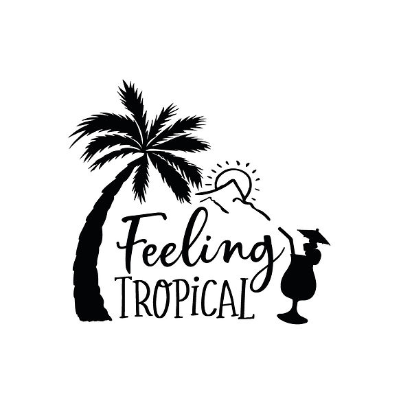 Feeling tropical Png   Free Printable Sarcastic Quotes T- Shirt Design in Png