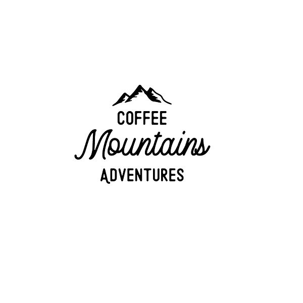 Coffee mountains adventures   Free Iron on Transfer Cool Quotes T- Shirt Design in Png