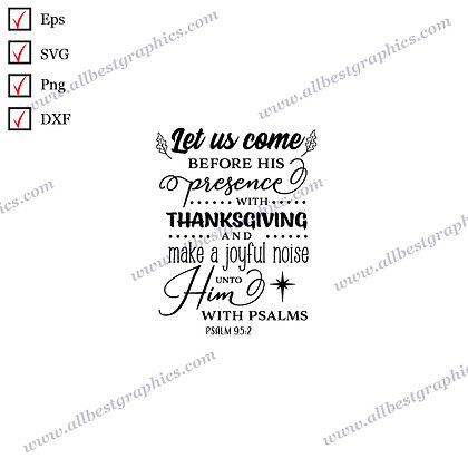 Let Us Come Before | Cool Quotes Christmas Template Vector Graphics Eps Dxf Png