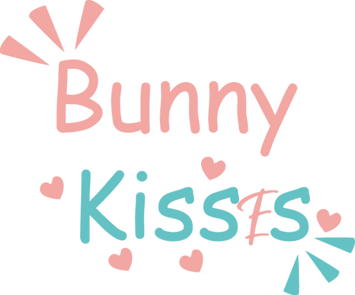 Bunny Kisses | Best Easter and Bunny Quotes & Signs Cut files in Eps Dxf Svg