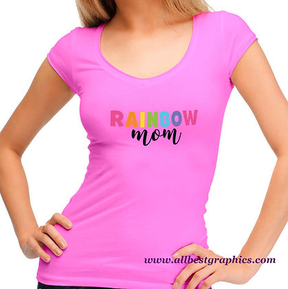 Rainbow Mom | Funny Mom Quotes & Signs for Cricut and Silhouette Cameo