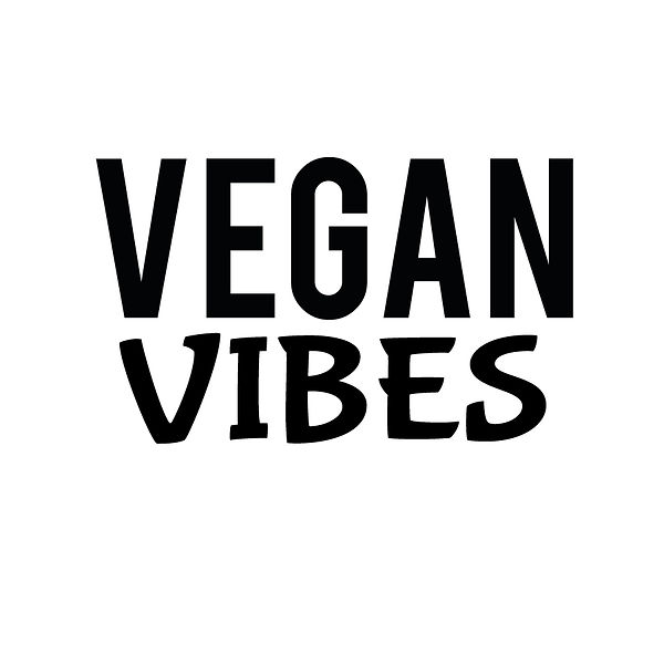 Vegan vibes | Free Iron on Transfer Funny Quotes T- Shirt Design in Png