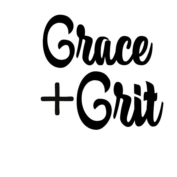 Grace & grit Png   Free download Printable Cool Quotes T- Shirt Design in Png