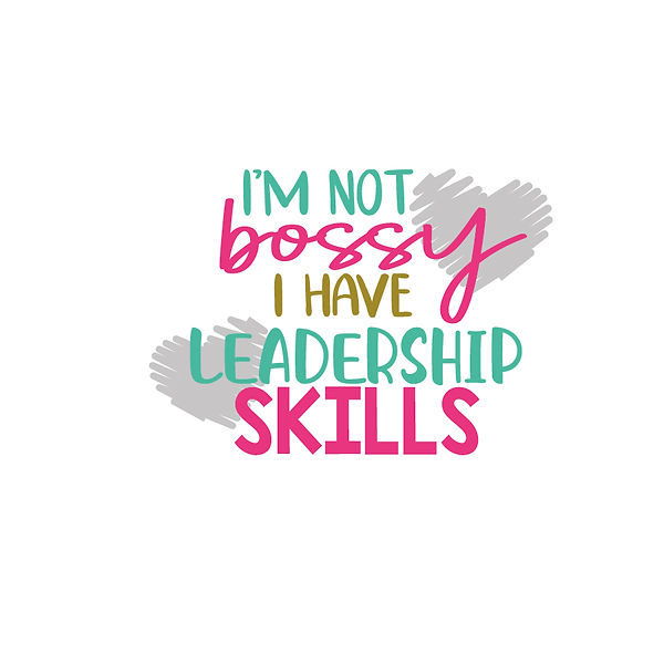 I'm not bossy Png | Free download Printable Cool Quotes T- Shirt Design in Png