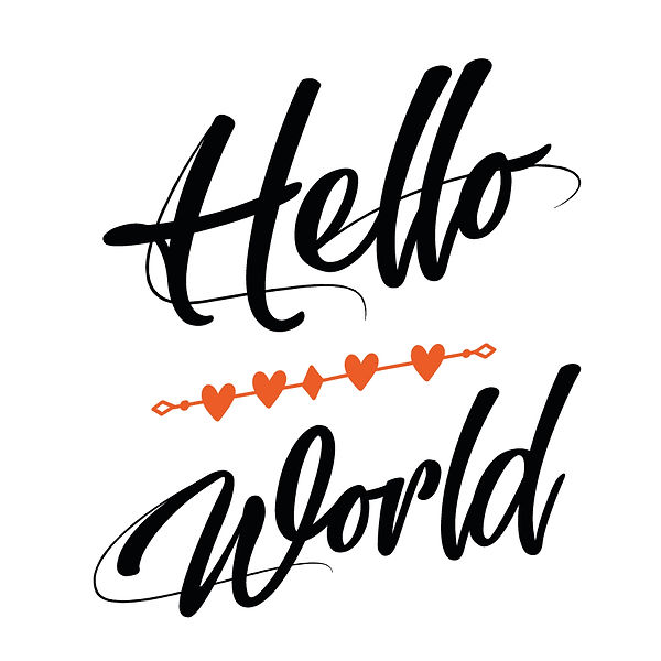 Hello world Png | Free download Printable Sassy Quotes T- Shirt Design in Png