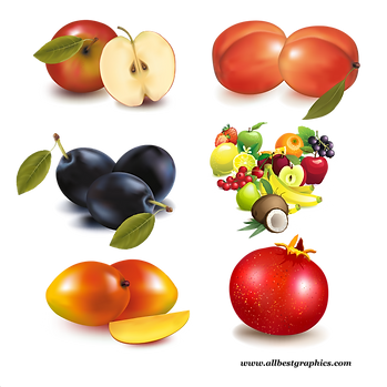 Amazing Mixed & Delicious Fresh Farm Fruits and Vegetables | Food clipart png free download