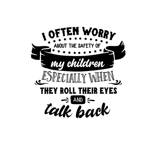 I often worry Png | Free Iron on Transfer Funny Quotes T- Shirt Design in Png