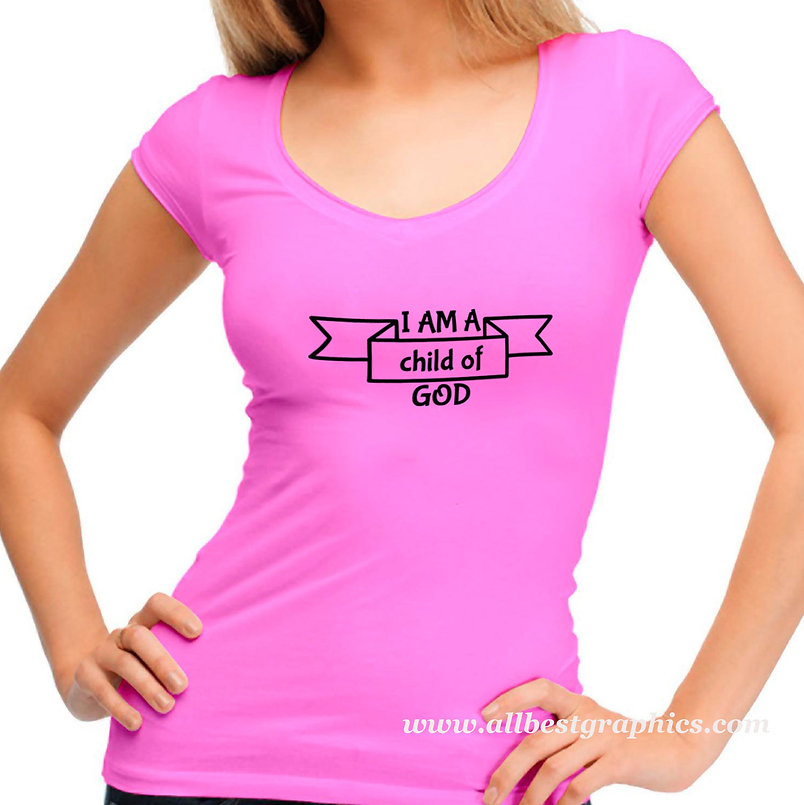 I am a child of god | T-shirt Quotes for Cricut and Silhouette Cameo