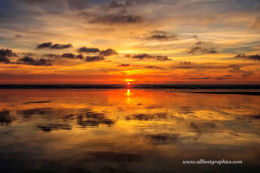 Glamorous spectacular sunset sky overlay | Overlays for Photoshop