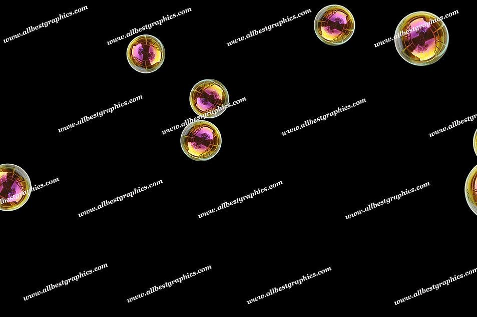 Gorgeous Air Bubble Overlays | Unbelievable Photoshop Overlay on Black
