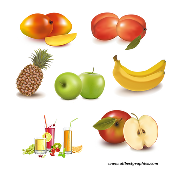 Beautiful Ripe & Natural Fresh Farm Fruits and Vegetables | Food clipart png free download