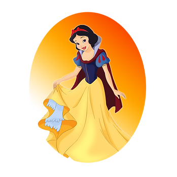 Snow White and the Seven Dwarfs | Disney princess free png clip art - size 1500x1500 transparent background