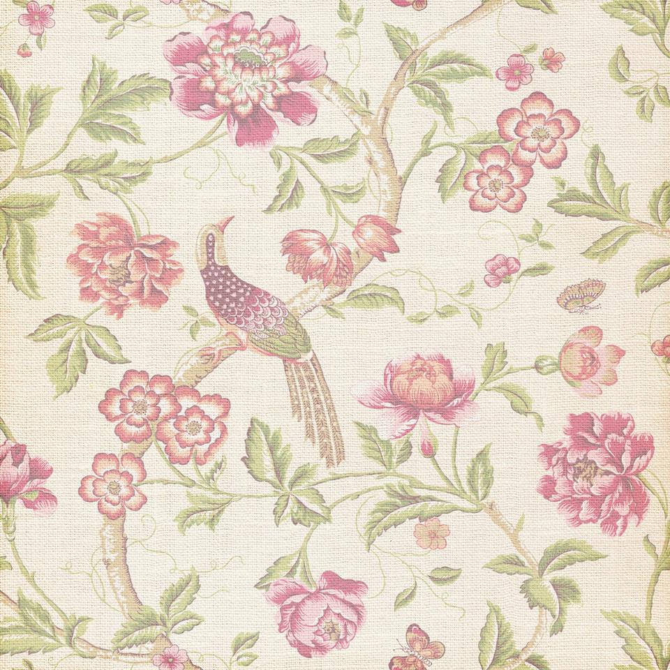 Spring floral digital paper with roses and peonies | Seamlees Digital Paper