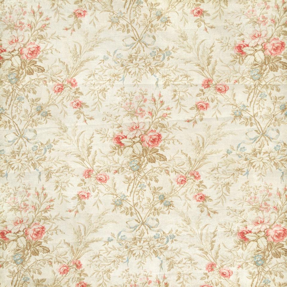 Vintage floral digital paper with roses and peonies | Printable Digital Paper