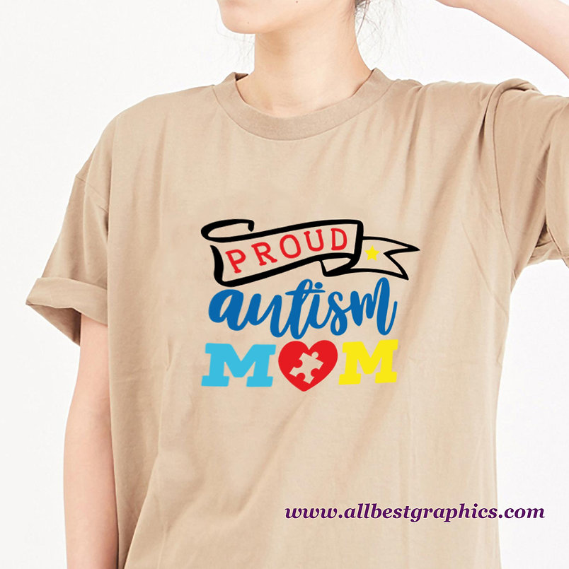 Proud Autism Mom Color | Slay and Silly Mom Quotes & Signs for Silhouette Cameo