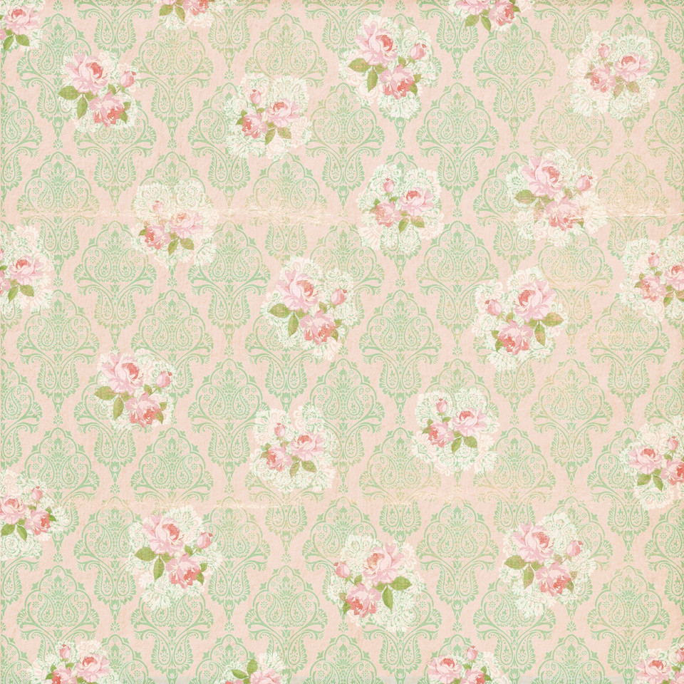 Pastel peonies digital paper with seamless design | Party Digital Papers