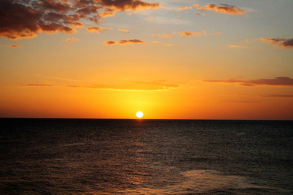 Beautiful tropical sunset sky photo overlay img_271210