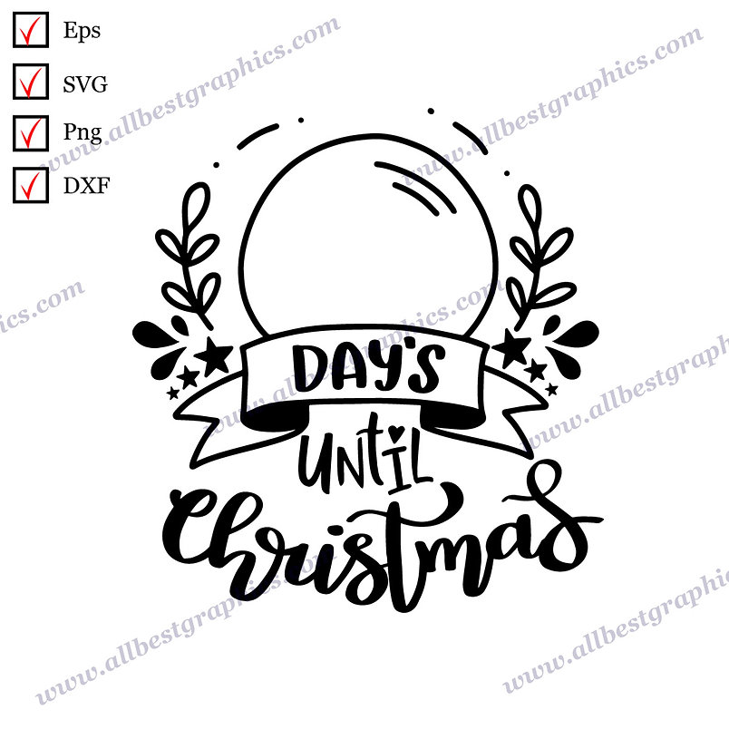 Days Until Christmas | Best Funny Quotes Christmas Template Ready-to-Use