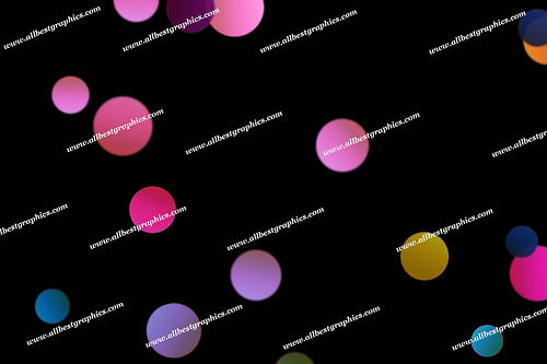 Fine Blurred Lights Bokeh Texture | Unbelievable Photo Overlays on Black
