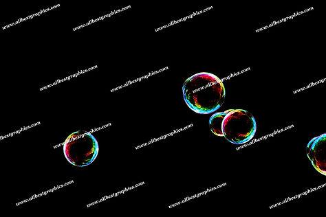 Gorgeous Baby Bubble Overlays | Incredible Photoshop Overlays on Black