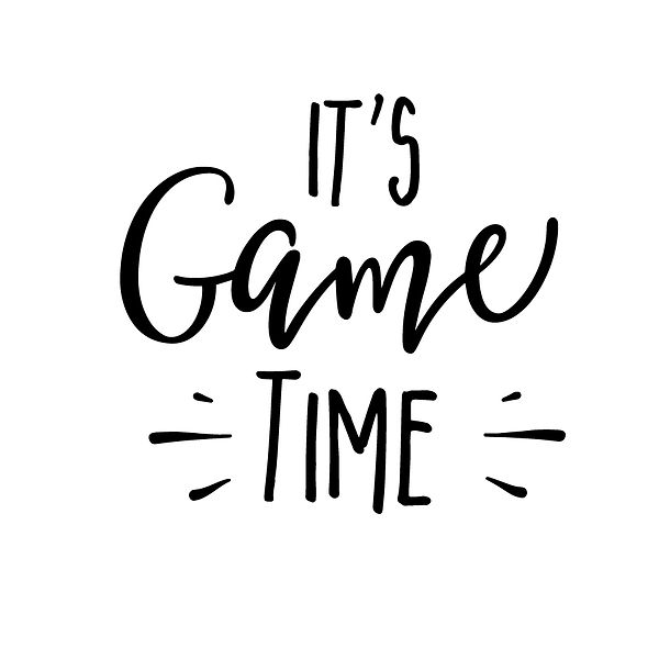 It's game time Png | Free Printable Sassy Quotes T- Shirt Design in Png