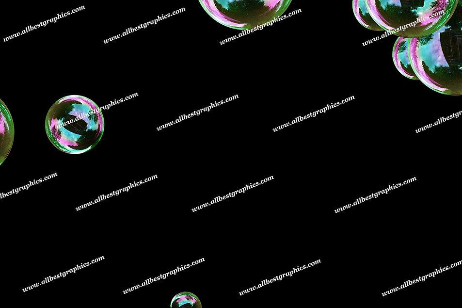 Adorable Rainbow Bubble Overlays   Incredible Photoshop Overlay on Black