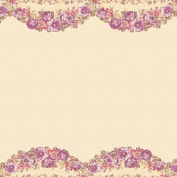 Retro floral digital paper with roses   Partterned Digital Paper