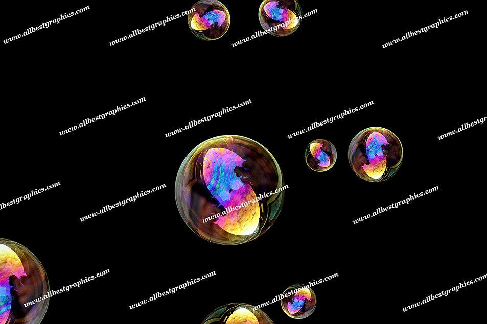 Gorgeous Air Bubble Overlays   Stunning Photoshop Overlays on Black