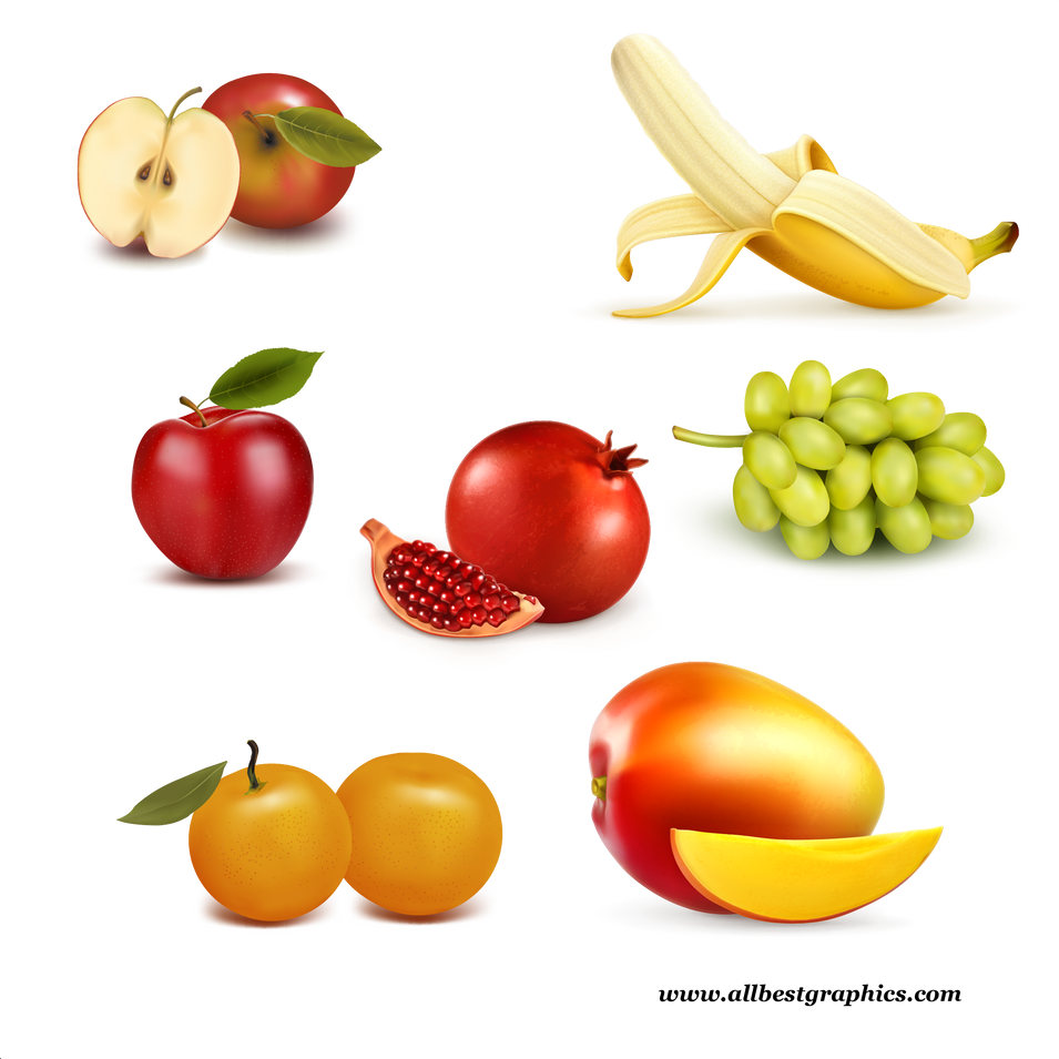 Awesome Organic & Different Fresh Farm Fruits and Vegetables   Food clipart png free download