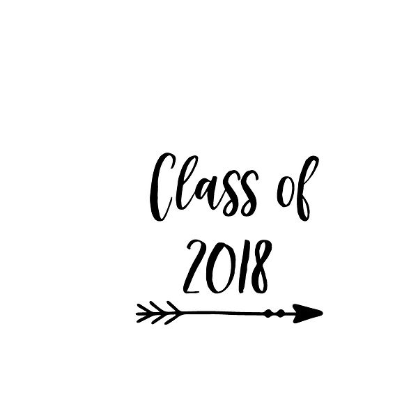 Class of 2018 | Free Printable Slay & Silly Quotes T- Shirt Design in Png
