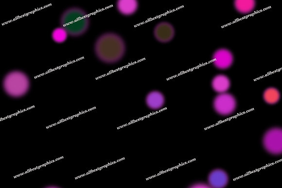 Beautiful Party Lights Bokeh Background | Stunning Overlays for Photoshop