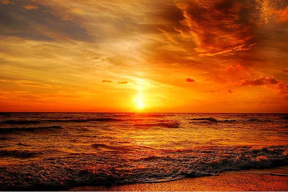 Stunning sunset photo overlays 5400x3600 300ppi jpeg format..