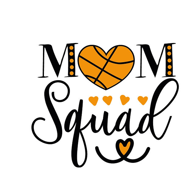 Mom squad basketball Png | Free Printable Slay & Silly Quotes T- Shirt Design in Png