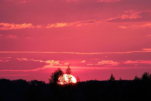Tropical paradise sunset sky overlays for photoshop  size - 5400x3600 300ppi