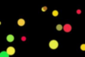 Colorful Holiday Light Bokeh Background on black background | Photo Overlays